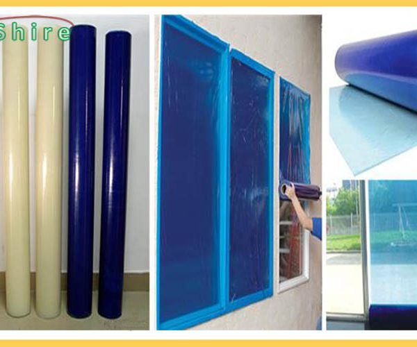 he PE protective film is a important product for the buliding material industry. It's economical, environmental,widely applicable protective film.It can Effectively prevent scratches and anti-dust.