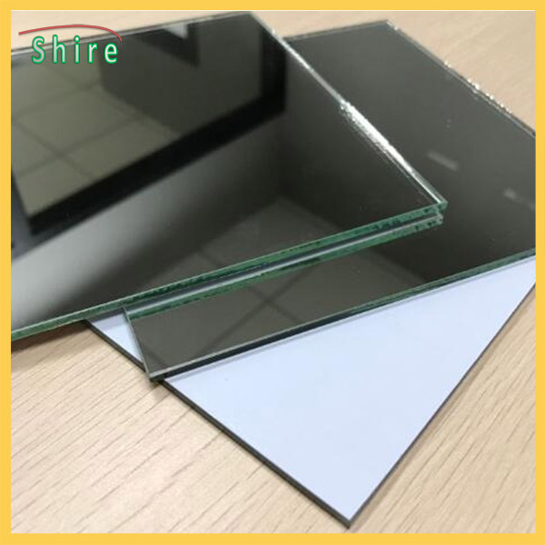 High Adhesion Opaque White Mirror Safety Backing Film PE Surface Protective Film