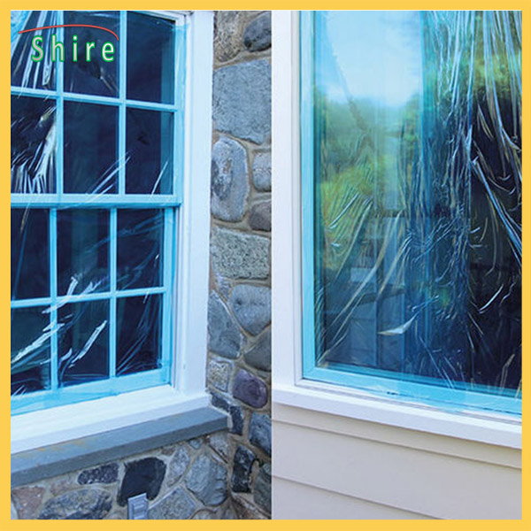 Anti – Scratch Glass Protective Film Construction Window Protective Coils