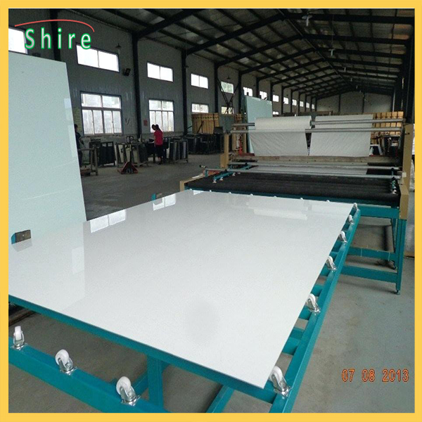 130 Microns Mirror Safety Backing Film Milk White Protective Film For Mirror Backing Protect