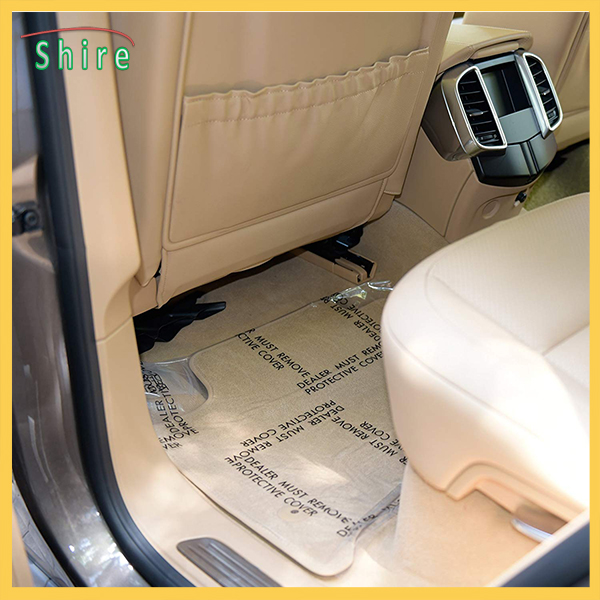 DMR Auto carpet protection film removable polyethylene protection film