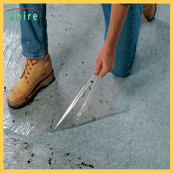 125mm width floor protection film anti dirt against wall painting