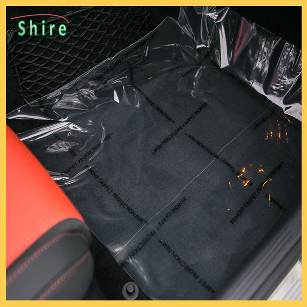 3mil/4mil Thickness Auto Carpet Protection Film car floor protection